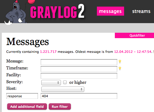 Power of graylog2 web interface thoughts that lead me enter gumiabroncs Gallery